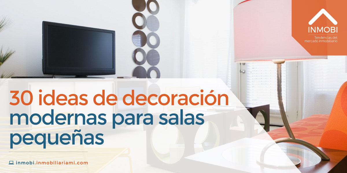 30 Ideas De Decoraci N Modernas Para Salas Peque As Mi